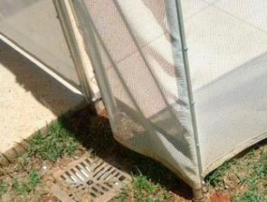 Instalação em grama sem base